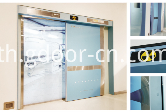 Ningbo GDoor Hermetic Doors with multi-function for Operating Rooms