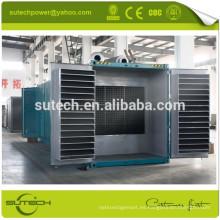 Venta caliente primera potencia silenciosa 720kw generador de contenedores accionado por CUMMINS KTA38-G2A motor