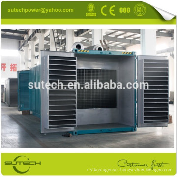 Hot sale prime power silent 720kw container genset powered by Cummins KTA38-G2A engine