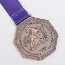 Wholesale personalizado de boa qualidade medalha de estanho
