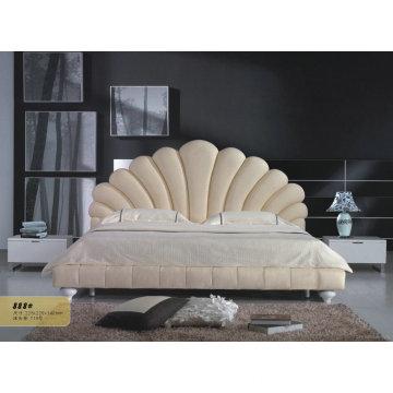 Bedroom Furniture, Modern Leather Bed (888)