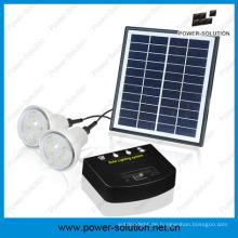 4W wiederaufladbare Solar Hauptbeleuchtung Systen für Afrika
