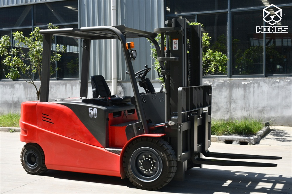 electric forklift truck 5 tons