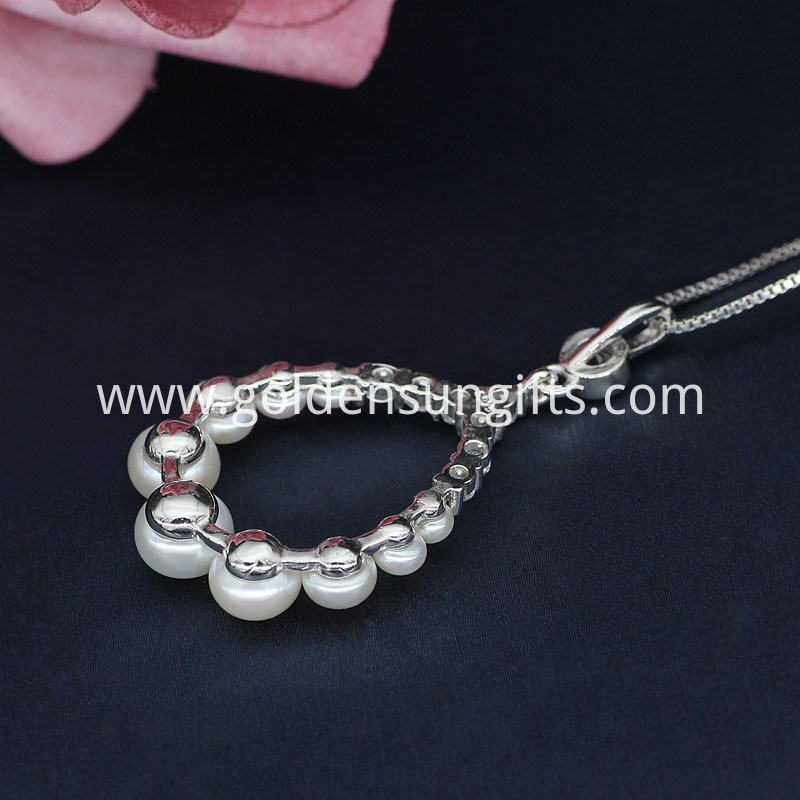 Pearl Pendant Necklace Jewelry