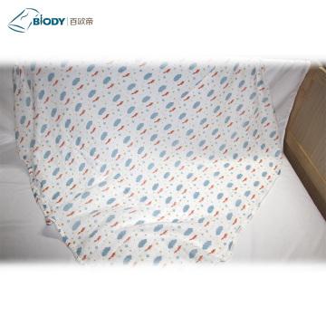 Free Knitting Patterns Cotton Muslin Baby Blanket