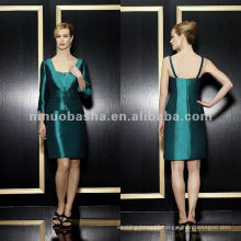 NY-1976 Stretch taffeta knee length sheath mother dress