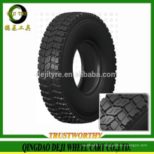 tout en acier pneu radial pour camions de Chine / pneu de bus
