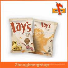 Sac en plastique personnalisé pour emballage alimentaire petit sachet pour Snacks