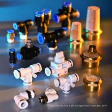 Schnellkupplung Pneumatische Rohrverschraubung für Luftschlauch