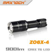 Maxtoch ZO6X-4 com foco Led de Zoom lanterna