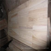 Paulownia Finger Joint Board oder Schnittholz für Möbel und Dekoration verwendet
