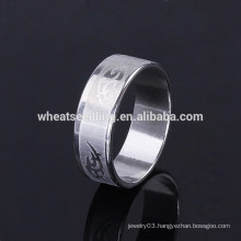 Fashion best design jewelry cheap wholesale men stainless steel ring