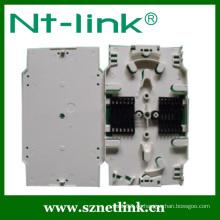 Weiße Farbe 12 Port Faser Spleißfach für Patch Panel