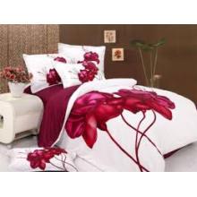 100% algodón cómodo juegos de ropa de cama para el hotel / casa