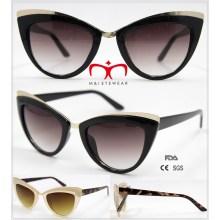 2016 Lunettes de soleil à la mode pour les yeux de chat pour dames (WSP601528)