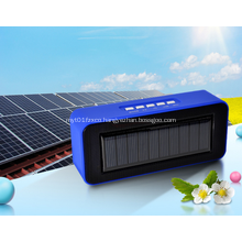 Creative Solar Powered Portable Bluetooth Speaker