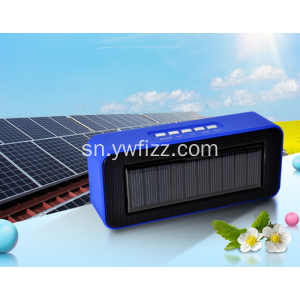 Creative Solar Powered Portable Bluetooth Spika