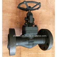 1500lb 2500lb geschmiedetes Carbon Stahl A105 Flansch End Globe Ventil
