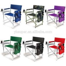 Alta qualidade 600d Folding Oxford Cloth Aluminum Director Chair