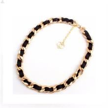 Großhandel Stoffe Silber / Gold Kleidung dekorative Metallketten