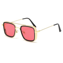 Newest style In Stock Custom Hot Selling mirror square steampunk sunglasses
