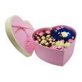 Heart Shape Waterproof Paper Flower Packaging Box