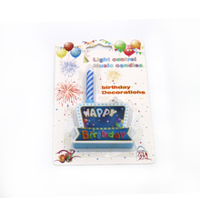 Elektronisch spel Happy Birthday Music Candle
