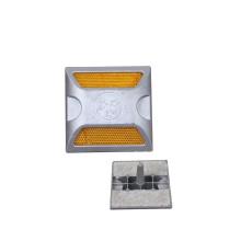 Solar Aluminum Reflective Road Stud/Road Cat Eye/Safety Road Marker