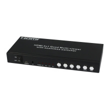Multi-Viewer HDMI 4X1 Quad avec commutateur continu