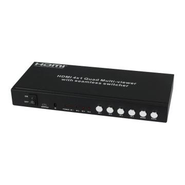 HDMI 4X1 Quad-Multi-Viewer mit nahtlosem Umschalter