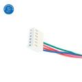 fio elétrico do chicote de fios do fio do passo de 2.0mm com terminal do anel