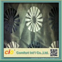 tissu de canapé design exotique