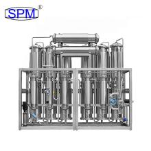SPM Water Distillation Apparatus Stainless Steel Water Distiller Machine for Lab