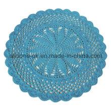 Fábrica do OEM Round Hand Crochet Baby Rug Blanket Decoração para casa