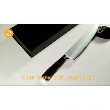 Finger guard Protector for cutting hand made kitchen 8 inch blade 9cr18mov steel quality chef knife