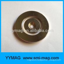 Rare earth neodymium magnets magnetic key ring