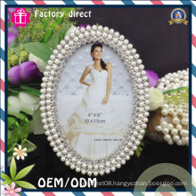 Oval Hand Carved New Model Photo Frame with Iron Material