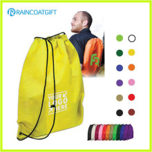 Umweltfreundlicher faltender wiederverwendbarer Nylon Drawstring-Bag Drawstring-Rucksack