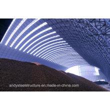 Estructura de acero prefabricada industrial Estructura espacial Esterilización de carbón
