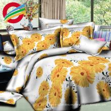 barato 3d imprimió las sábanas 100% del lecho de algodón