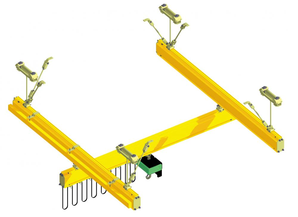 Eurosystem single-girder crane