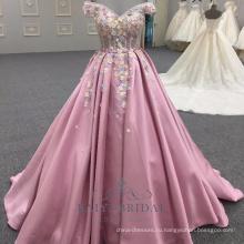 Длинные Розовые Атласные Backless Вечерние Платья Вечерние Платья Для Леди Носить 2018 Алибаба