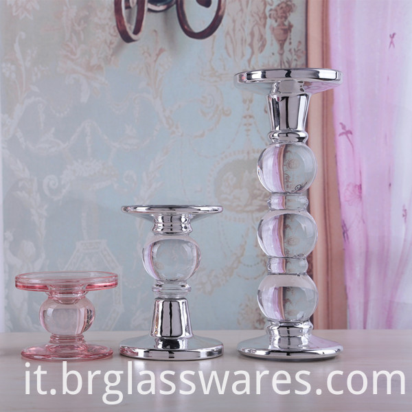 Set of 4 Candlestick holder 1