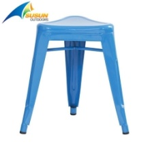 garden iron stool