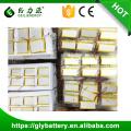 Batería del polímero de litio de 3.7v 550mah