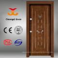Portas de madeira de entrada de casa Europeia novo design