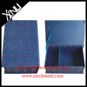 Poly Tie Packaging Boxes 100% Microfiber Gift Box Necktie
