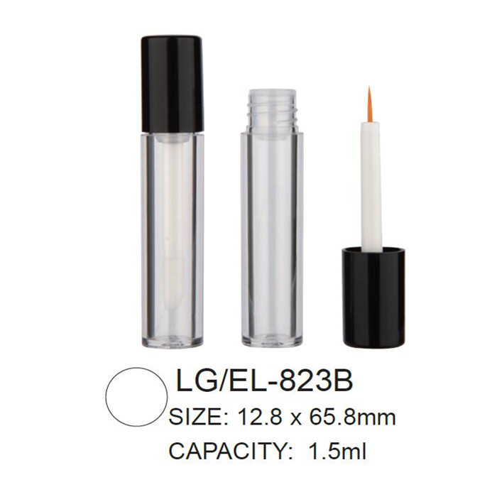 Round empty lipgloss/eyeliner packaging
