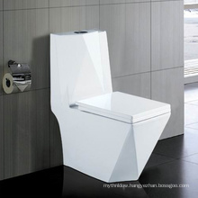 Wash Down One-Piece Ceramic Wc Toilet
