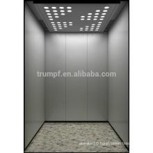 Mirror Etching Machine Roomless Passenger Elevator